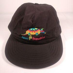 RARE Neon Armadillo disney Hat one size